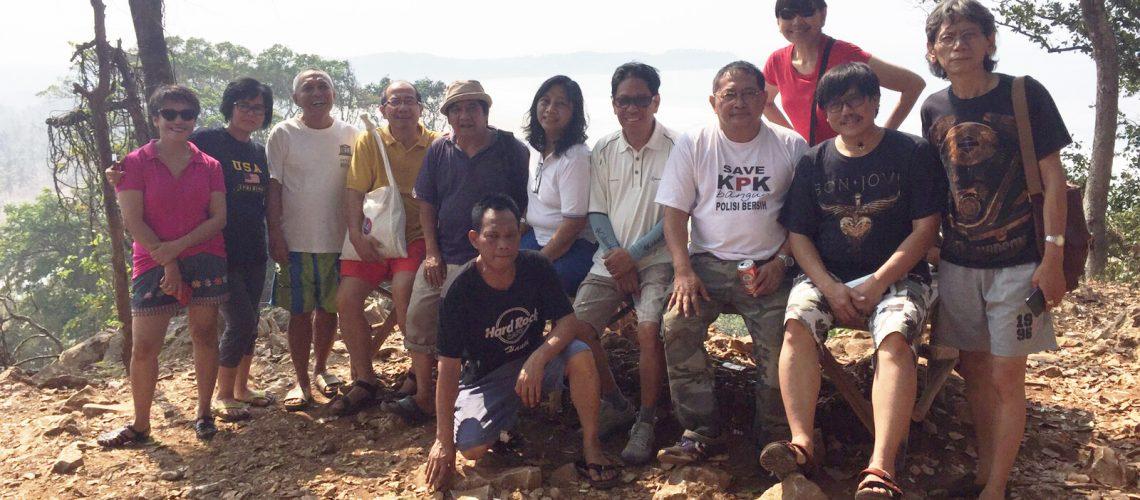 Kunjungan Para Antropolog Universitas Indonesia ke Kampung 99 Pepohonan Bayah, Kabupaten Lebak, Banten Selatan, Provinsi Banten